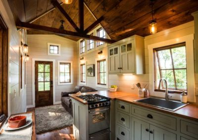 Denali tinyhomebuildersflorida kitchen and living