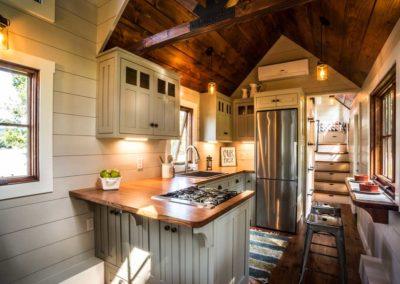 Denali by tinyhomebuildersflorida imber framingy Homes timber framingy Homes kitchen bar